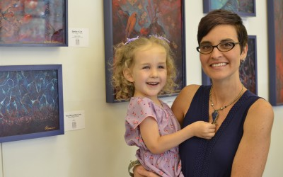 'Mommy' Has an Art Show